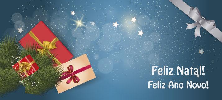 Arte para caneca: Feliz Natal! Feliz Ano Novo!