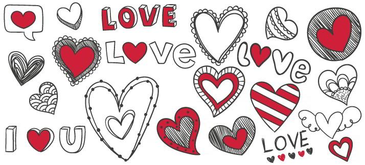 Arte para caneca: I love you