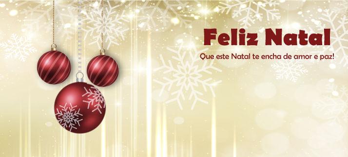 Arte para caneca: Feliz Natal - Que este Natal te encha de amor e paz!