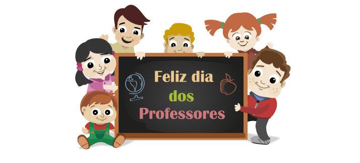 Arte para caneca: Feliz dia dos professores