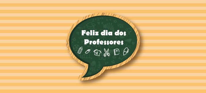 Arte para caneca: Feliz dia dos professores - Dia dos Professores