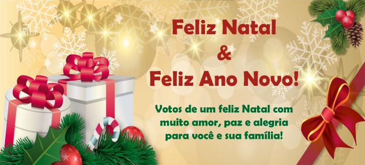 Arte para caneca: Feliz Natal e Feliz Ano Novo! Feliz Natal com muito amor para você e sua família!