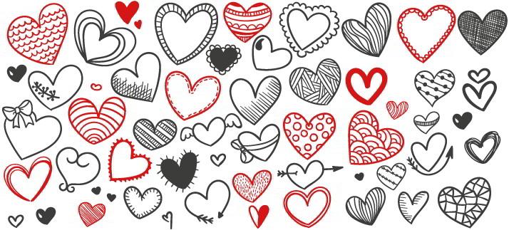 Arte para caneca: Coração, love, amor
