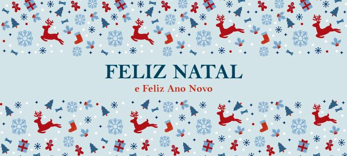 Arte para caneca: Feliz Natal e Feliz Ano Novo