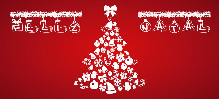 Arte para caneca: Feliz Natal - Natal
