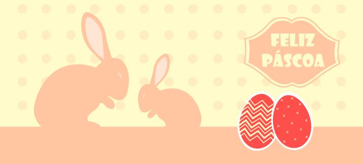 Arte para caneca: Feliz páscoa